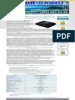 PicoCell E900_2000 SX23 GSM усилитель с пропускной способностью до 50 абонентов