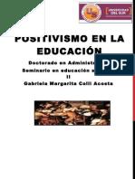 Positivismo en la educación