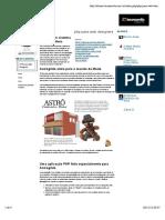 Aula 04 - Criando um sistema de Newsletters