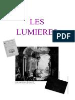 Dossier Les Lumières