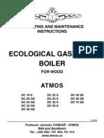 Atmos Wood Boiler Manual