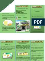 Brochure y Planímetro en Ingles