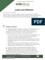 Come Configurare una Webcam_ 10 Passaggi (con Immagini)