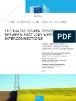 Baltic Power System Interconnections