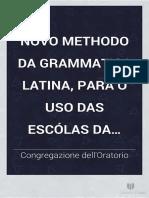 1752 - Nova Gramatica Latina - Antonio Pereira.pdf
