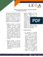 3. LEGA LETTER - MINISTERIO DEL PODER POPULAR PARA EL TURISMO Y COMERCIO EXTERIOR.