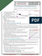 Série d'exercices 14 , Mouvements plans   , 2BAC BIOF , SM , SP et SVT ,  Pr JENKAL RACHID