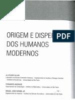 Allan et al. Origem e dispersão Homo Sapiens