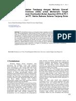 Optimalisasi Peralatan Tambang Dengan Metoda Overall