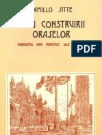 (Editura Tehnica) - Camillo Sitte - Arta Construirii Oraselor-Urbanismul Dupa Principiile Sale Artistice