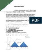 Modelo de producto con deficit