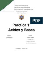 informe ácidos y bases