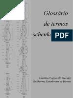 Glossário de termos schenkerianos - Gerling, Barros