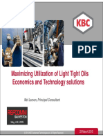 Maximizing-Utilization-of-Light-Tight-Oils-Economics-and-Technology-solutions-Larson-KBC-Shale-Galveston-2015