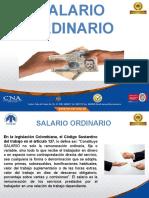 SALARIO ORDINARIO
