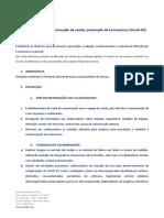 Protocolo Saúde - diretriz geral julho 2020