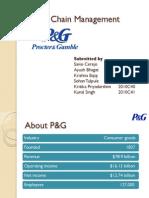 P&G SCM Initiatives