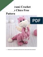 Amigurumi Crochet Dragon Chico Free Pattern