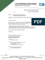 3 EPN-DD-2020-0047-M, Informe rediseño para registro  Carrera en Mecánica