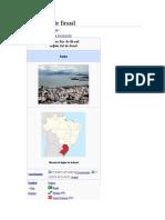 Región Sur de Brasil contexto