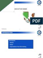 Basics of Six-Sigma