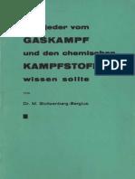 Was jeder vom Gaskampf und den chemischen Kampfstoffen wissen sollte - Margarete Stoltzenberg-Bergius