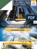 UNIDADE 01 - Classificação e Diferenças Entre BIM E CAD