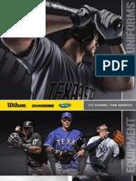 Wilson Catalog (Baseball 2011)