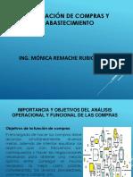 OPERACIONES DE COMPRA Y ABASTECIMIENTO SEGUNDA SEMANA
