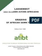 CLASSEMENT DES SCIAGES AVIVES AFRICAINS