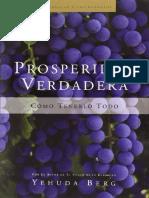 Prosperidad Verdadera - Yehuda Berg