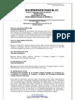 AUTORIDADES RECTORALES THEOLOGICAL METROPOLITAN COLLEGE Ext. VENEZUELA