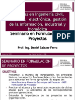 SEMINARIO DE FORMULACION DE PROYECTOS