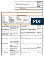 Ats Cargue y Descargue Materiales Con Pluma Grúa (