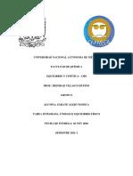 TAREA INTEGRADA. UNIDAD II. EQUILIBRIO FÍSICO