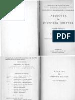 Apuntes de Historia Militar - Juan Domingo Perón