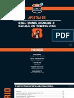 Apostila 03 - o Real Trabalho Do Calculista - Resolução Dos Principais Erros