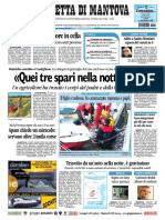 Gazzetta Mantova 22 Settembre 2010