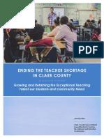 CCSD Teacher Recruitment and Retention Commission Report 2021