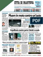 Gazzetta Mantova 23 Settembre 2010