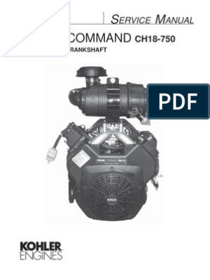CH20S service manual   Gasoline   Motor Oil