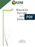 Manual de Nutrição de Elefantes AZAB