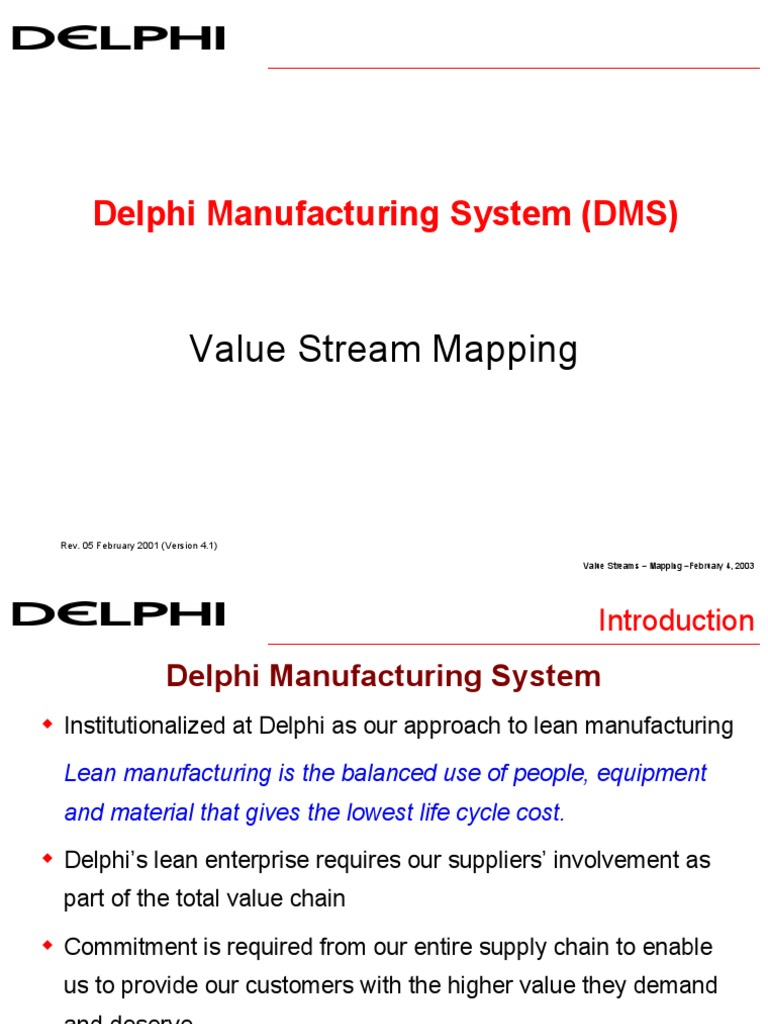 value stream map lean manufacturing process engineering