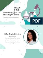 Minicurso Produção de Transgênicos (1)