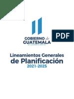 Lineamientos Generales de Planificación