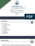 Metodologia Desarrollo DAS