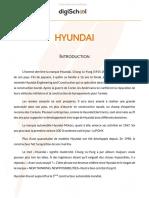 Hyundai SWOT
