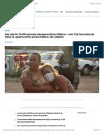 ? En México hay más de 73,000 personas desaparecidas