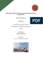 Trabajo Módulo II Tarea 2 Diplomado Protecciones