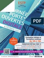 ESTP Paris_JPO du 6 février 2021